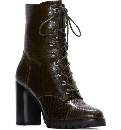 Naomi Lace Up Bootie | Nordstrom