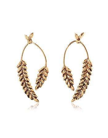 wheat stalk earring - Google Search