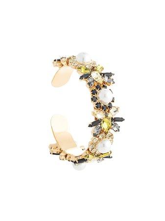 Erdem, Crystal Bee Cuff Bracelet
