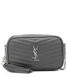 Lou Camera Mini Leather Crossbody Bag   Saint Laurent - Mytheresa