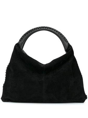 Valentino Garavani Rockstud Suede Tote Bag - Farfetch