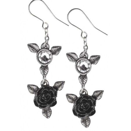 Alchemy Gothic   ring o roses gothic earrings