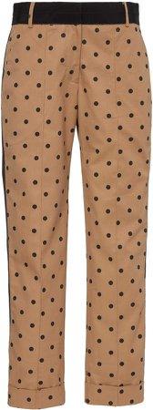 Silvia Tcherassi Garmet Cropped Polka Dot Pants