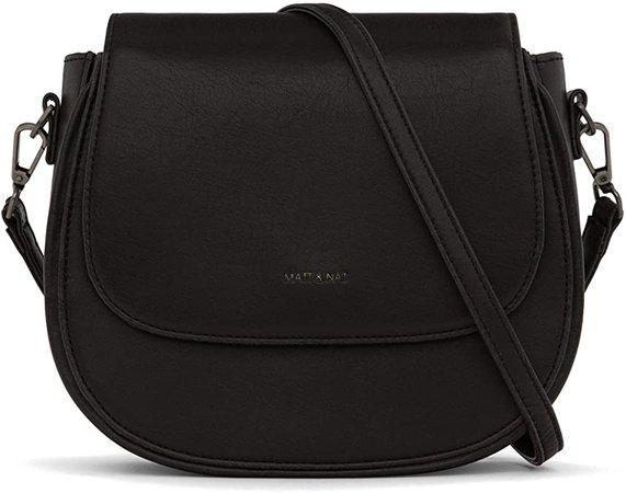 Matt & Nat Rubicon Saddle Bag, Black: Handbags: Amazon.com