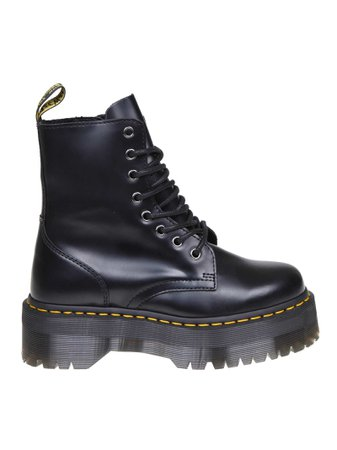 Dr. martens Anfibio Jadon In Black Leather