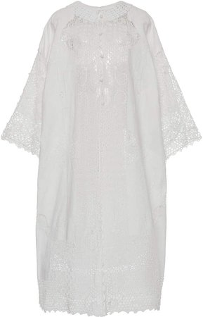 Dolce & Gabbana Guipure Lace Midi Dress