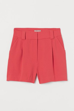 Shorts eleganti - Rosso corallo - DONNA | H&M IT