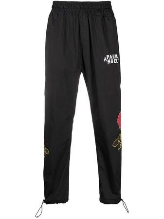 Palm Angels Rose Details Track Pants - Farfetch