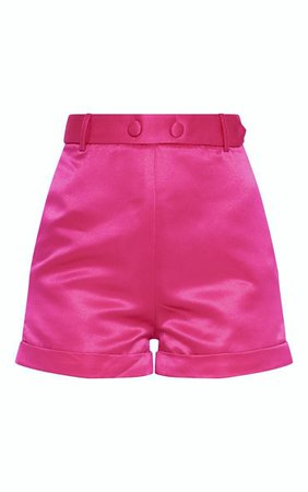 Hot Pink Suit Shorts | Shorts | PrettyLittleThing