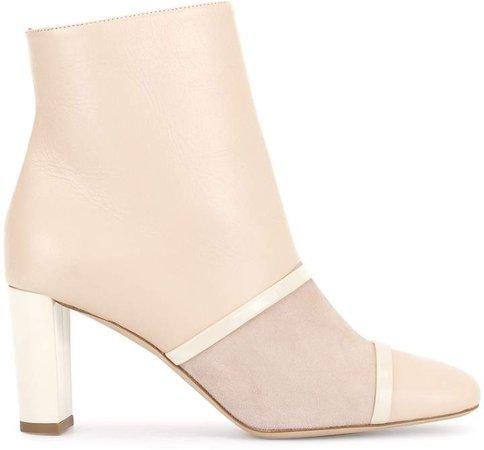 Dakota panelled ankle boots