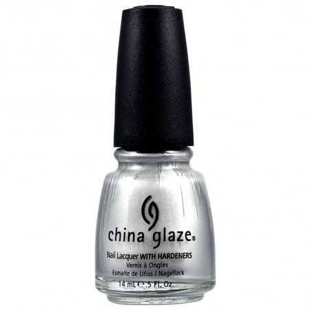 China Glaze Nail Polish - Platinum Silver (77051) 14ml | Nail Polish Direct