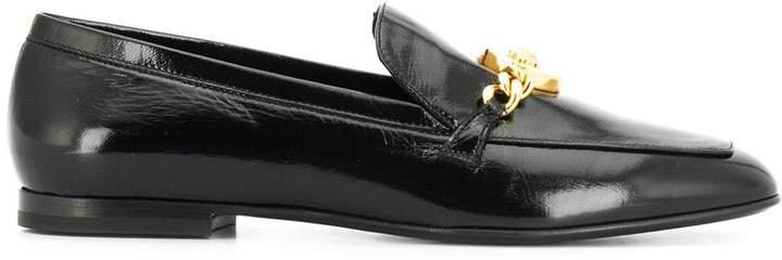 Medusa medallion loafers