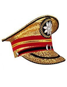 Pinterest (Pin) marching band hat