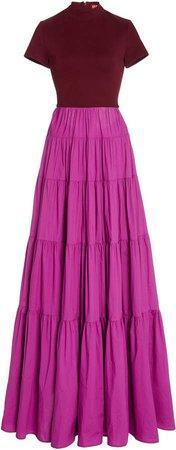 Staud Gage Poplin Dress