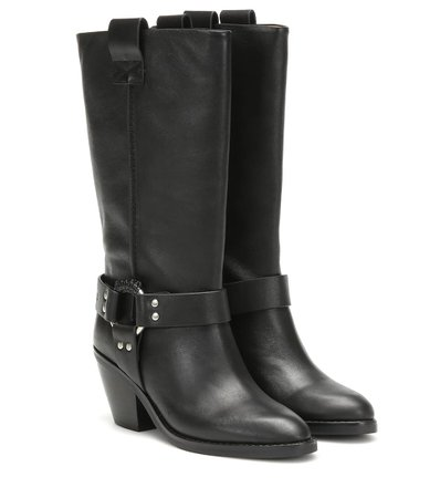 Texan Leather Boots - See By Chloé | Mytheresa