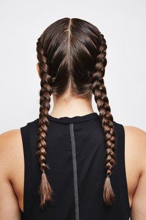 Double Dutch French Braids: Final Look | How to Do Double Dutch Braids on Yourself | POPSUGAR Beauty Australia Photo 6
