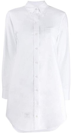 long-sleeve poplin shirt