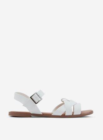 White Comfort White 'Fly' Sandals | Dorothy Perkins