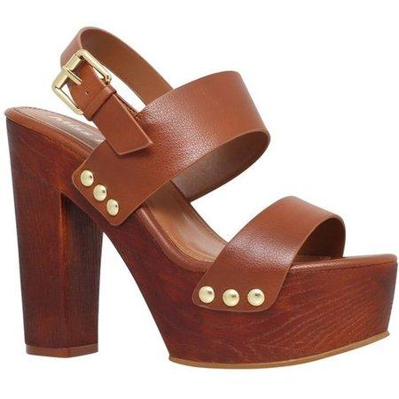 Chunky Platform Sandal Heels