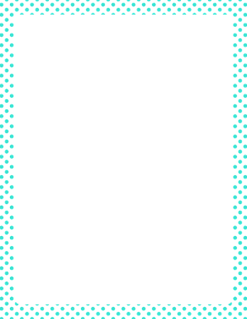 Teal Border Frame PNG Clipart Vector, Clipart, PSD - peoplepng.com