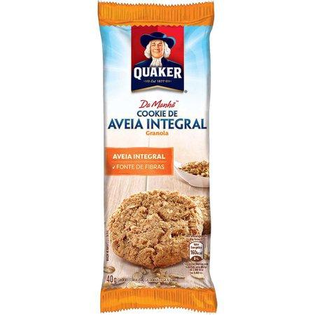 Cookies de Aveia Integral e Granola Quaker 40g - Mambo Delivery