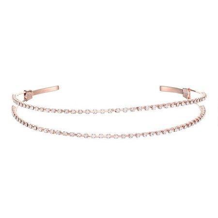Nina Split Crystal Headband & Reviews - Fashion Jewelry - Jewelry & Watches - Macy's
