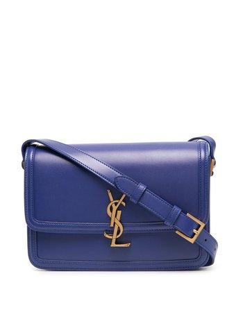 Shop Saint Laurent medium Solferino crossbody bag with Express Delivery - FARFETCH