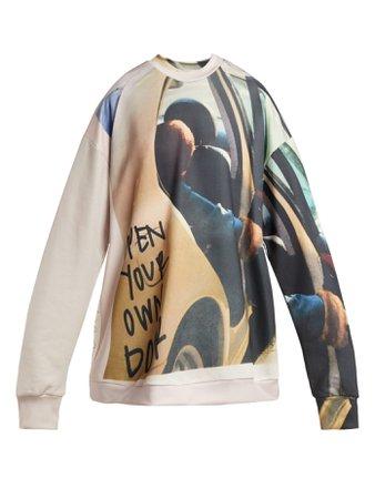 Printed sweatshirt | Marques'Almeida | MATCHESFASHION.COM