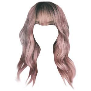 Pink Hair Bangs