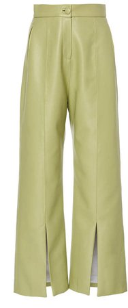 High Waist Pants With Slits