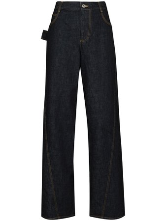 wide-leg jeans farfetch