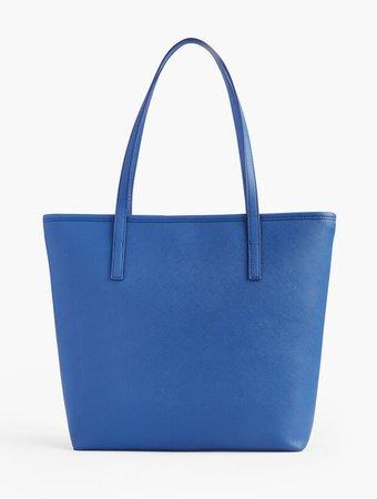 Breton Blue Tote Bag | Talbots
