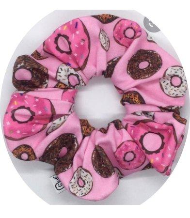 Donut scrunchies