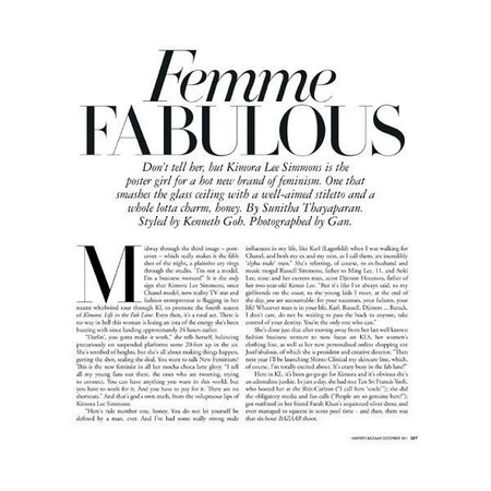 femme fabulous text