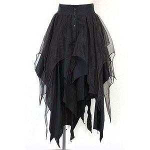 Layered Gothic Witch Skirt