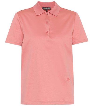 Cotton Polo pink Shirt