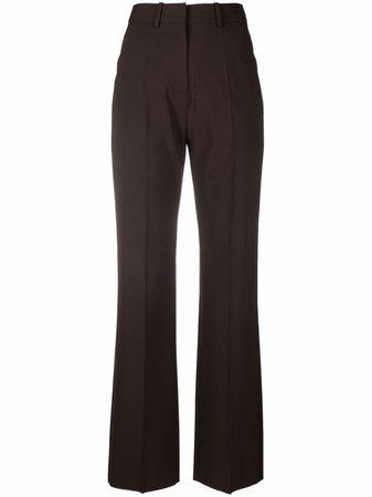 Valentino Tailored straight-leg Trousers - Farfetch