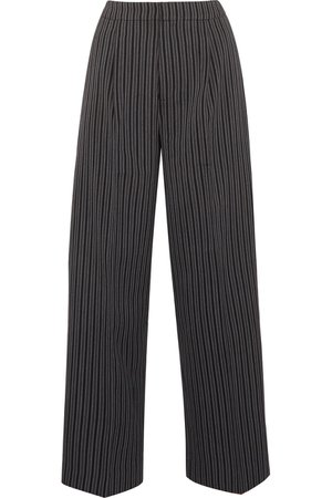 Jacquemus | Striped wool wide-leg pants | NET-A-PORTER.COM