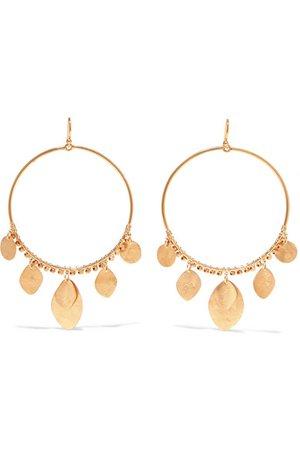 Chan Luu | Gold-tone earrings | NET-A-PORTER.COM