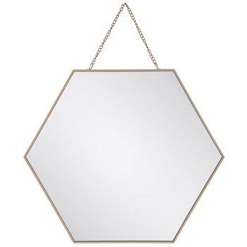 Gold Hexagon Wall Mirror - Large   Hobby Lobby   80941486