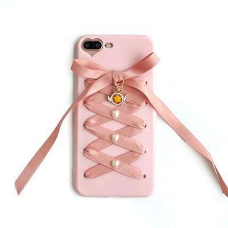 """Pink Ribbons"" iPhone Case"