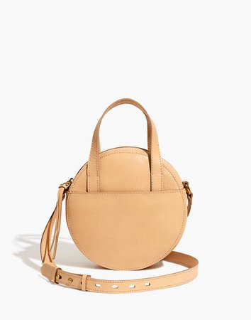 The Juno Circle Crossbody Bag Linen