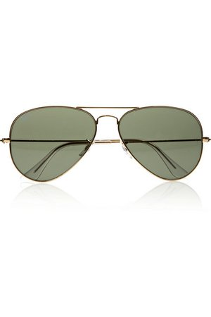 Ray-Ban | Aviator gold-tone sunglasses | NET-A-PORTER.COM