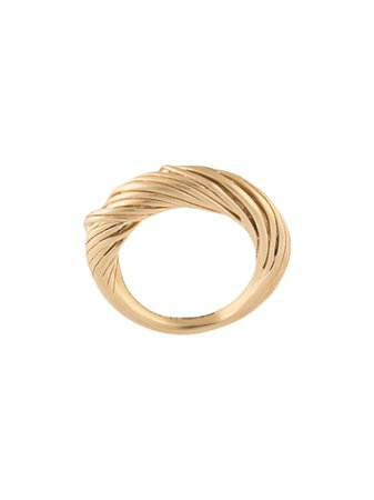 Gold Completedworks Woven ring F10 - Farfetch