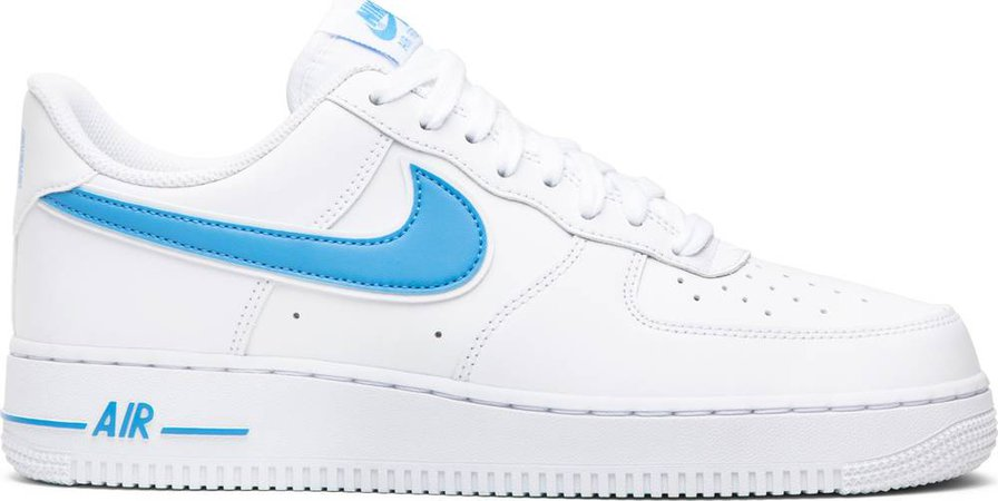 Air Force 1 '07 Low 'University Blue' - Nike - AO2423 100 | GOAT