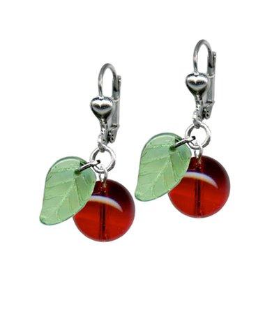 cherry earrings - Google Search
