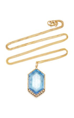 Larkspur & Hawk Lady Caprice 14K Gold And Multi-Stone Necklace