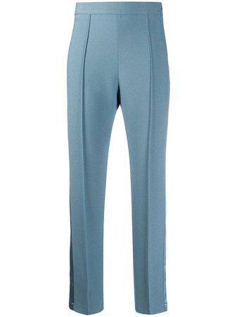 Hebe Studio, Cropped Trousers Pants