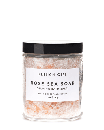 Rose Sea Soak - Calming Bath Salts   FRENCH GIRL