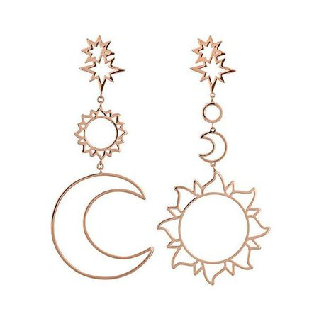 celestial magic drop earrings